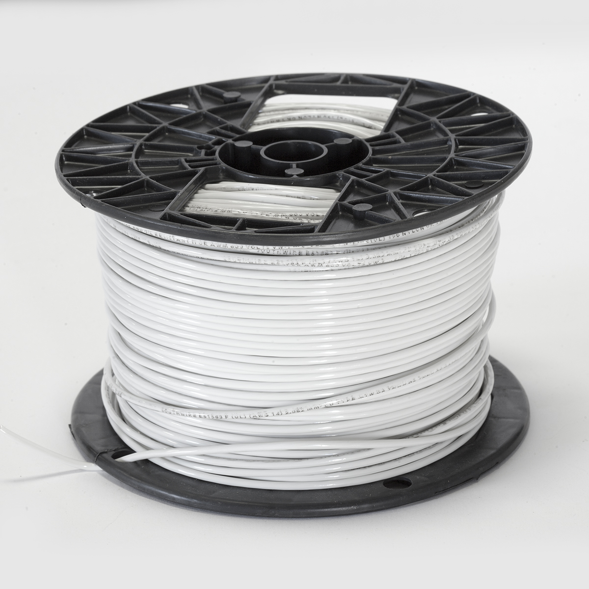 14 AWG THHN STRANDED WHITE WIRE - Abitech