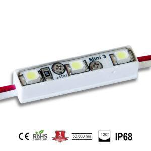Daylight White 3 Mini Lights LED Modules